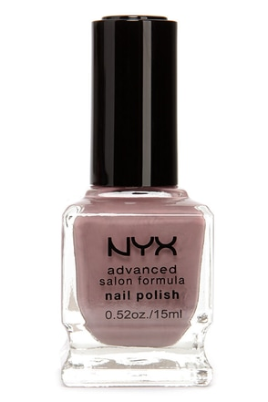 NYX Advanced Salon Formula Mauve Nail Polish
