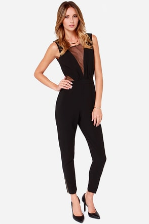 Lumier Beautiful Mistake Black Jumpsuit at Lulus.com!