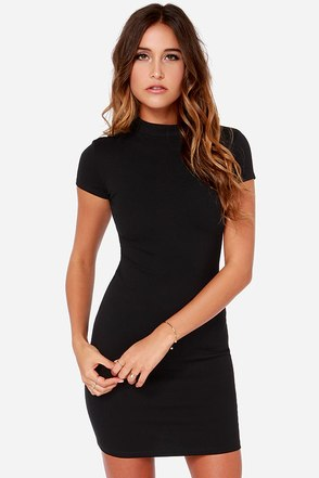 LULUS Exclusive Show Off Black Dress at Lulus.com!