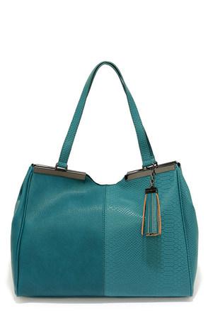 Steve Madden Bnatalia Teal Handbag at Lulus.com!