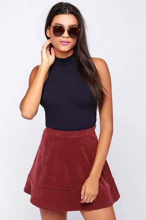 That Bass Black Crop Top at Lulus.com!