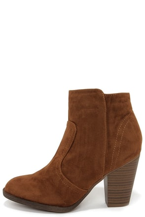 Heydays Beige Suede Ankle Boots at Lulus.com!