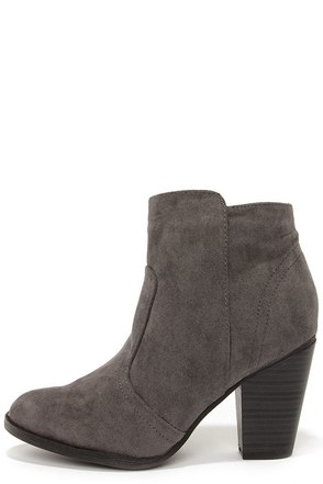 Heydays Tan Suede Ankle Boots at Lulus.com!