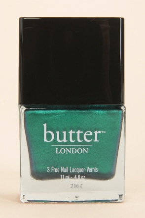 Butter London Thames Metallic Teal Nail Lacquer