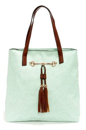 Two Peas in a Pod Light Beige Tote