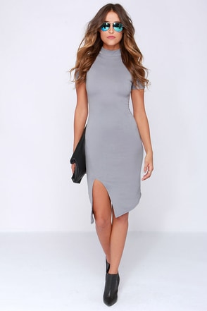 LULUS Exclusive In the Neck of Time Light Pink Bodycon Dress at Lulus.com!