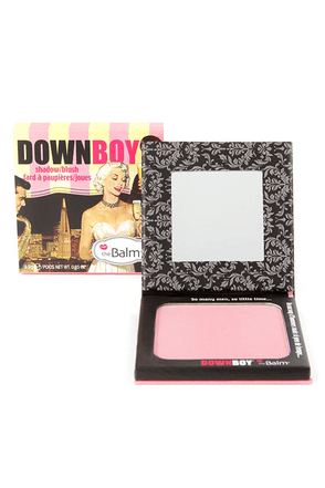 The Balm DownBoy Baby Pink Shadow Blush at Lulus.com!