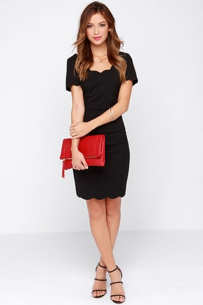 Mischief Maker Black Dress at Lulus.com!