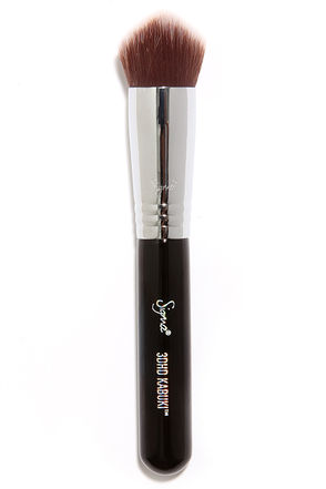 Sigma 3DHD Angled Kabuki Makeup Brush at Lulus.com!