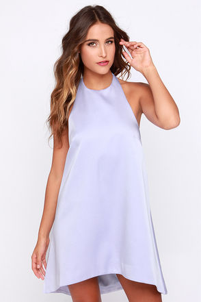 Keepsake Last Chance Lavender Mini Dress at Lulus.com!