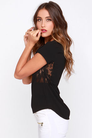 Black Swan Skate Black Top at Lulus.com!