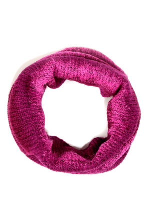 O'Neill Chair 22 Burgundy and Pink Circle Scarf