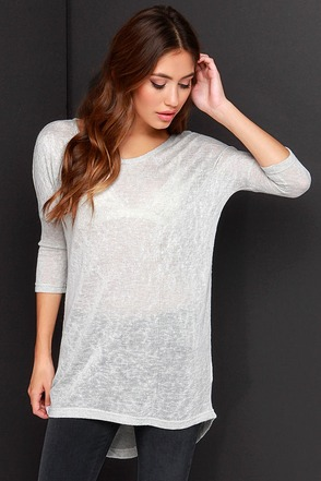 Fresh Take Cream Tunic Top at Lulus.com!