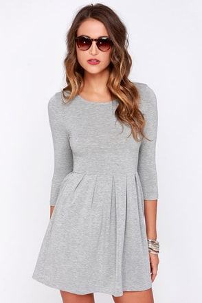 Keen About You Dark Green Skater Dress at Lulus.com!