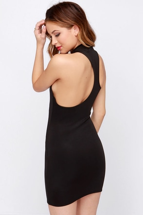 LULUS Exclusive To the Nines Black Bodycon Dress at Lulus.com!