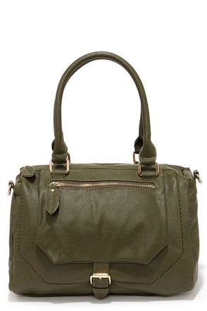 A Show of Hands Olive Green Handbag at Lulus.com!