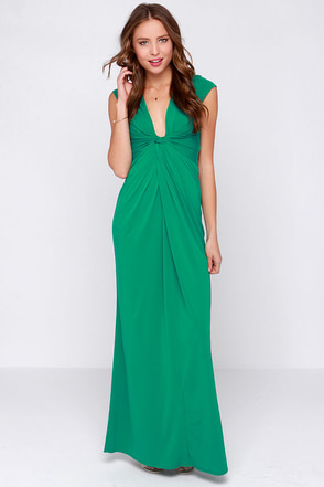 Hold You Close Green Maxi Dress at Lulus.com!