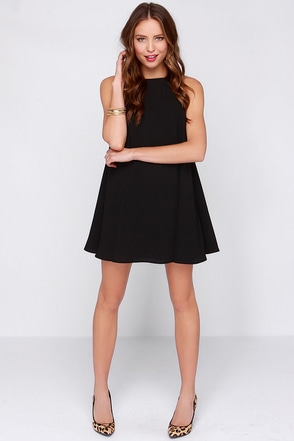 The Fifth Label Behind the Sun Black Trapeze Dress at Lulus.com!