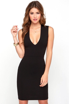 LULUS Exclusive Love the Limelight Black Bodycon Dress at Lulus.com!