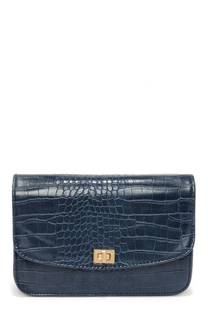 Go Gator Navy Blue Purse at Lulus.com!