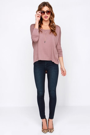 Dittos Kelly High Rise Dark Wash Jeggings at Lulus.com!