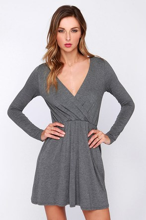Alakazam Black Long Sleeve Dress at Lulus.com!