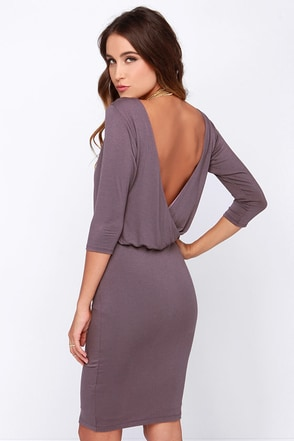 All or Nothing Forest Green Backless Dress at Lulus.com!