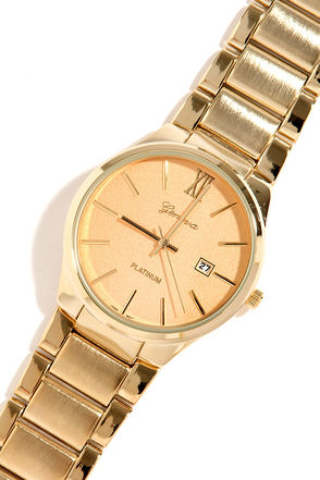 Ahead of Schedule Gold Watch at Lulus.com!