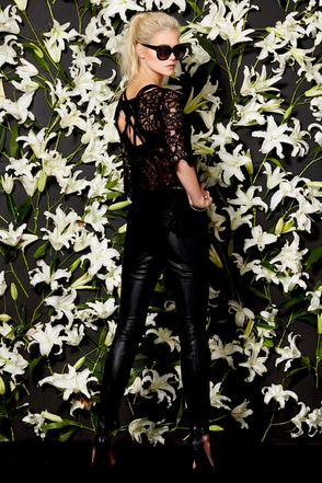 BB Dakota Tansy Black Vegan Leather Pants at Lulus.com!