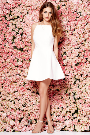 Keepsake Same Love Pale Pink Mini Dress at Lulus.com!
