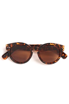 Milano Tortoise Sunglasses at Lulus.com!