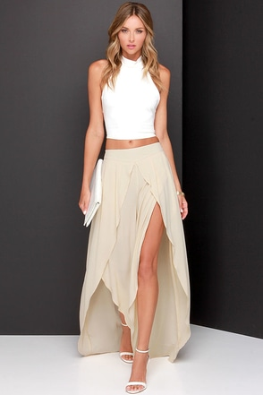 Along the Riviera Beige Pants at Lulus.com!