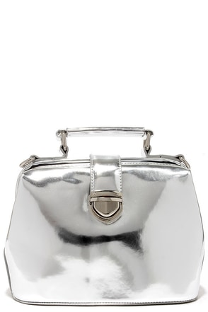 Mystique of Nature Silver Bag at Lulus.com!