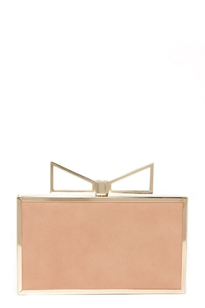 Carat Top Blush Clutch at Lulus.com!