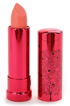 100% Pure Poppy Pomegranate Oil Lipstick at Lulus.com!
