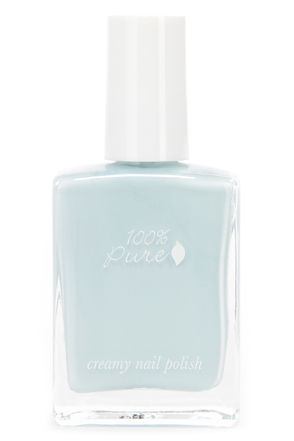 100% Pure Sugar Melon Creamy Coral Pink Nail Polish at Lulus.com!