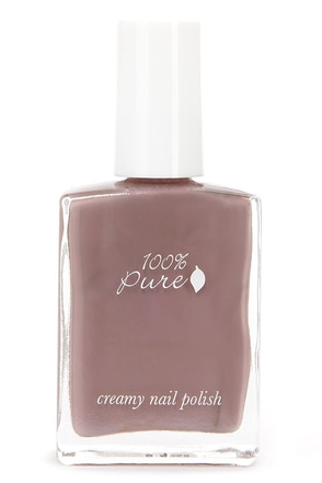 100% Pure Tomato Creamy Red Nail Polish at Lulus.com!