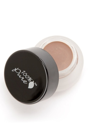 100% Pure Bora Bora Satin Cream Eye Shadow at Lulus.com!