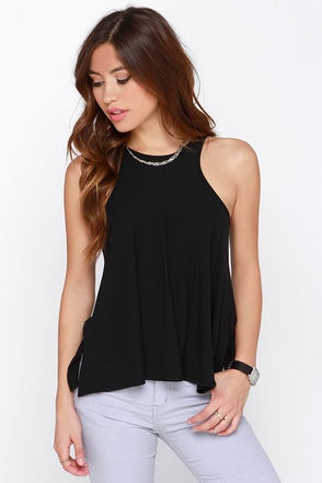 Dee Elle Tanks So Much Grey Tank Top at Lulus.com!