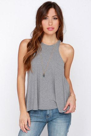 Dee Elle Tanks So Much Black Tank Top at Lulus.com!