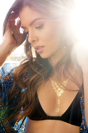 Stop, Glamor-time! Metallic Temporary Tattoos at Lulus.com!