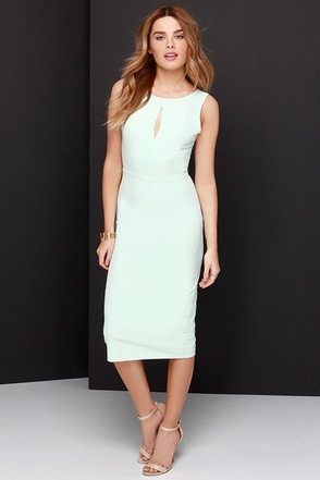 Black Swan Insider Cream Midi Dress at Lulus.com!