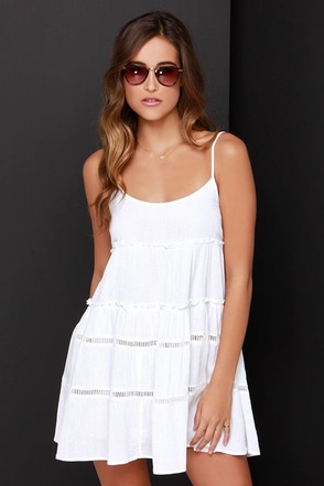 O'Neill Dazy Ivory Dress at Lulus.com!