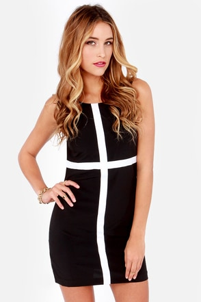 Lucy Love Celebration Black Sheath Dress