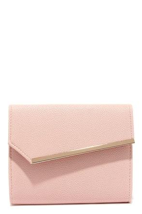 Uptown Chic Blush Pink Clutch at Lulus.com!