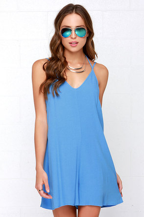 In Short Order Blue Romper at Lulus.com!