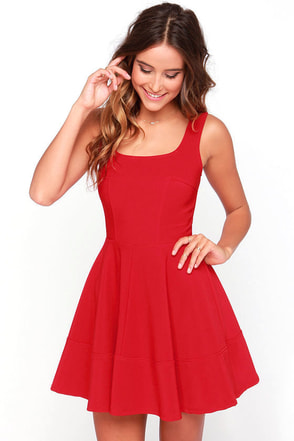 Red DressesCasual Cocktail Party & Red Prom Dresses for Juniors