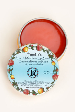 Smith's Rose and Mandarin Lip Balm