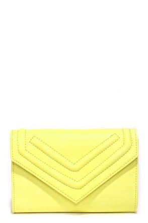 Point and Shoot Ivory Clutch at Lulus.com!