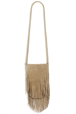 Fringe With Benefits Leather Burgundy Purse at Lulus.com!